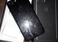 ايفون 7+ اسود128