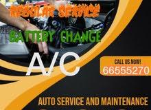 car service,battery , oil change , AC ,  maintenance, auto service