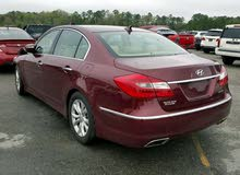 Maroon Hyundai Genesis 2013 for sale