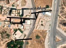 قطعة أرض في تغسات بالخلف من مسجد أولاد شهوب تحديدا للبيع