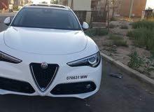 تأجير سيارات الفا روميو ستيلفو 2018 جديد اتوماتيك