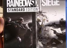 لعبه rainbow six siege ps4 استعمال نضيف جدا بكل حاجتها