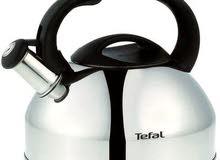 تيفال ابريق شاي إستانلس ستيل مصقول عالي المقاومة ، 2.5 لتر ، فضي