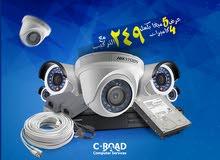 4 كاميرات 5 ميغااا نوع هيكفجن داخلي او خارجي