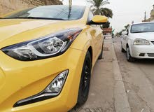 Yellow Hyundai Elantra 2015 for sale