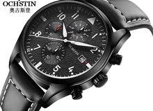 ساعة رجالية ماركة  Ochstin