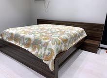 3 months old wooden bed