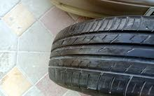 Two pieces of car tires Falcon made in Japan siz 205/ 60/ 16 model 2019 very cle