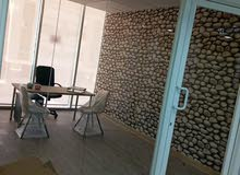 مكاتب للايجار بدون عموله وابتدا من 200دينار  وشهر مجاني