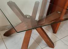 عدد 2 طاولة كنب جانبية