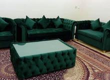 making new sofa, majlis, curtain. Recovering and repairing old sofa, majlis.