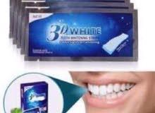 لزقات تبييض الاسنان