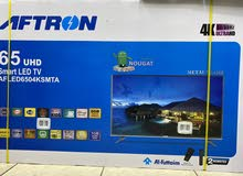 "aftron 65"" smart 4K uhd ultra hd android led tv brand new for sell"