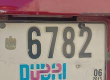 car plate number for sale dubai E 6782