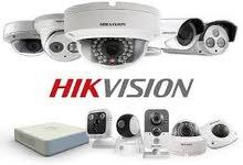 جميع انواع كاميرات المراقبة واجهزة الانذار