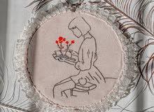 لوحة تطريز شغل يدوي للبيع