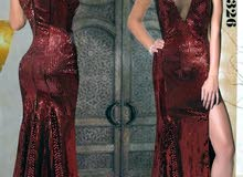 فستان مخمل مرايا