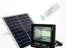 كشاف LED 80W على الطاقة الشمسية فقط
