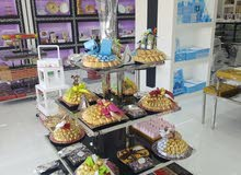 ديكور محل ورود ومحل حلويات وشوكولا متكامل