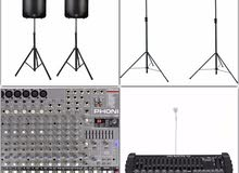 SOUNDS AND LIGHTS FOR RENT