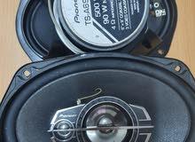 Pioneer 500 watt 3 way speakers