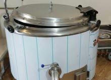 قدر لطبخ الأرز يعمل على الكهرباء سعة 350 لتر يصلح للمطابخ العموميه