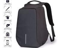 شنطة ضد السرقة مع مدخل للشاحن anti theft backpack with USB charging port