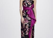 فستان ماركة Marchesa Notte مستورد من أمريكية