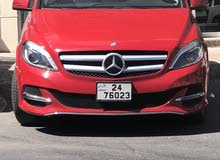 Automatic Red Mercedes Benz 2014 for sale
