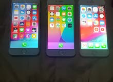 يوجد لدينا  ثلاثة اجهزة ايفون 6 ايكلويد من الداخل فقط