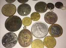 قطع نقدية مغربية جد نادرة