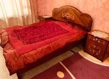 غرفه نوم بحاله جيده وسبب البيع لغرض السفر