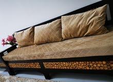 handmade sofa mahogeny PURE WOOD 100%