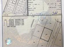 للبيع ارض سكنية ممتازة في المعبيلة بلوك 3 خلف جامع التواب مباشرة بواجهة عريضة