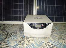 لوحين طاقة شمسية