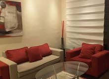 Abdoun neighborhood Amman city - 100 sqm apartment for rent