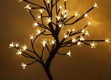 شجرة مضيئه الوان واشكال