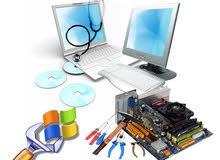 خدمة صيانة وبيع مستلزمات الكمبيوتر
