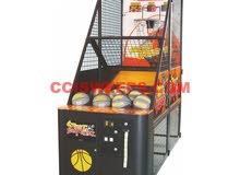 لعبة كرة السلة نظام ملاهي او منتزهات