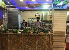 مطعم مشاوي + شورما ع الفحم