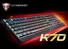 كيبورد خصيصاً لألعاب البي سي مع فأرة ألعاب  Gaming RGB keyboard PC + Gaming mouse