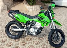 kawasaki KLX250 off road bike