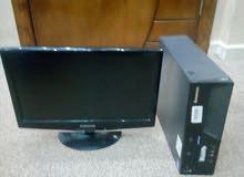 كمبيوتر للبيع نوع لينوفو مع شاشه بسعر مغري قابل لتفاوض