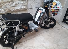 دراجة كهربائية استعمال شهر للبيع بحالة الوكالة