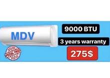 AC MDV 9000btu
