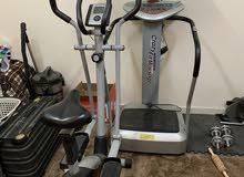 جهاز تكسير الدهون مع جهاز لتحرك الجسم
