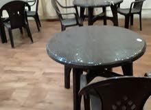طاولات وكراسي اخر كميه اقل منسعر الجمله