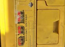 بطارية GBM 75 امبير جافة