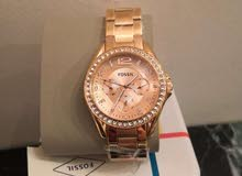 Fossil Women's Analogue Quartz Watch with Stainless Steel Strap