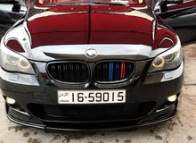 Black BMW 523 2008 for sale